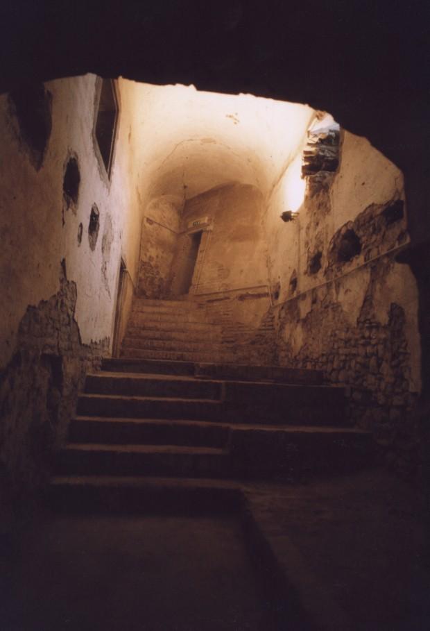 Rocca sotterraneo
