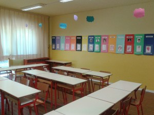 scuola primaria Arceto aula