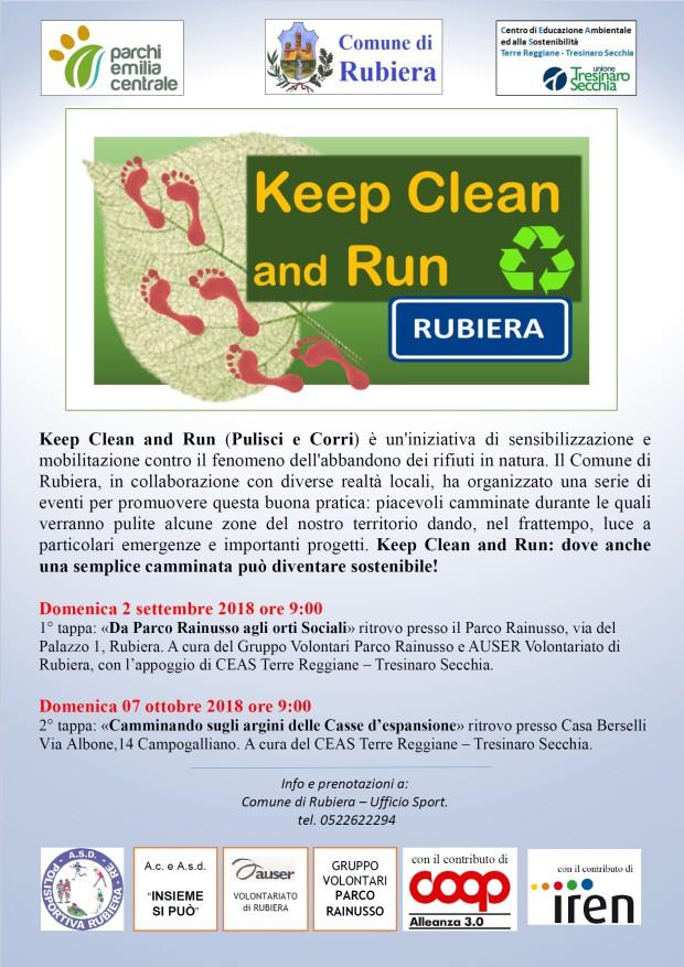 keep clean run