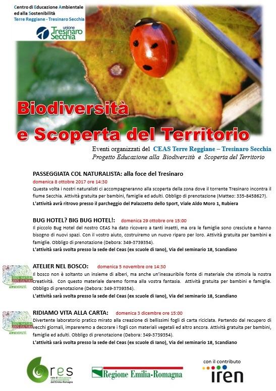 Volantini SCOPERTA TERRITORIO-BIODIVERSITA'_autunno 2017