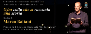 cartolina Marco Baliani
