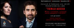cartolina Vera Gheno Bruno Mastroianni