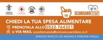"""Leggi: «Riparte """"Scandiano Aiuta"""": numero dedicato 0522-764321»"""